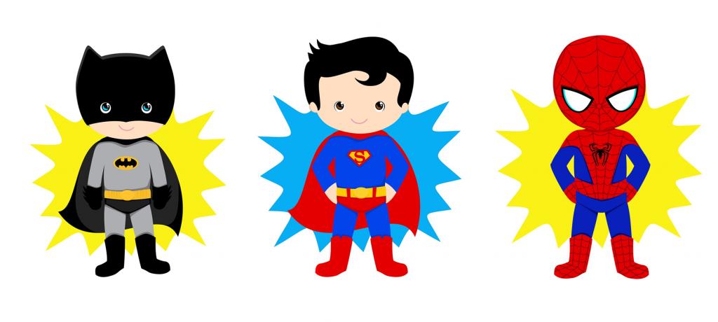 Idées déco d'anniversaires thème supers héros
