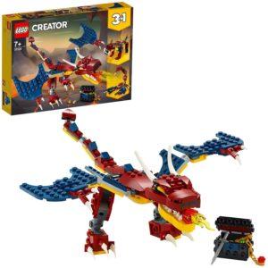 LEGO Dragon de feu