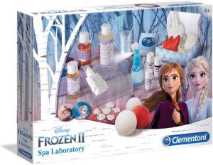 Le labo de beauté d'Elsa la reine des neiges
